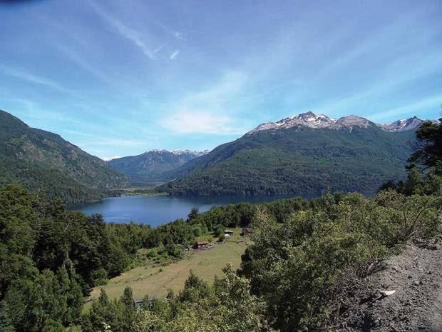 Tierra del Fuego, Lake Futalaufquen, Los Alerces National Park