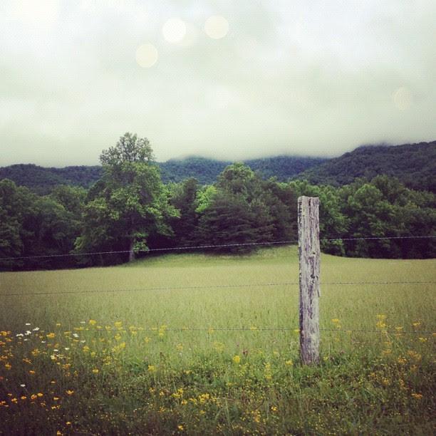 The beautiful Smokey Mountains