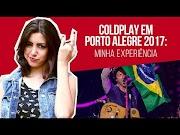 Show do Coldplay em Porto Alegre