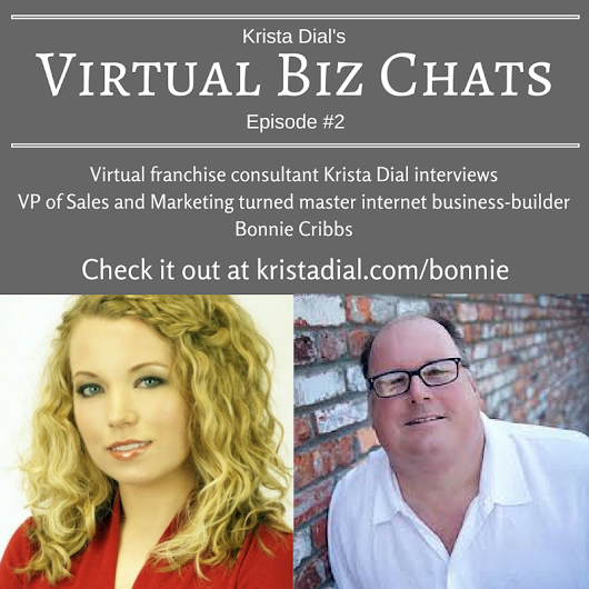Marketing executive turned virtual franchise owner...