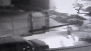 Security camera image of Dr. Hook driver