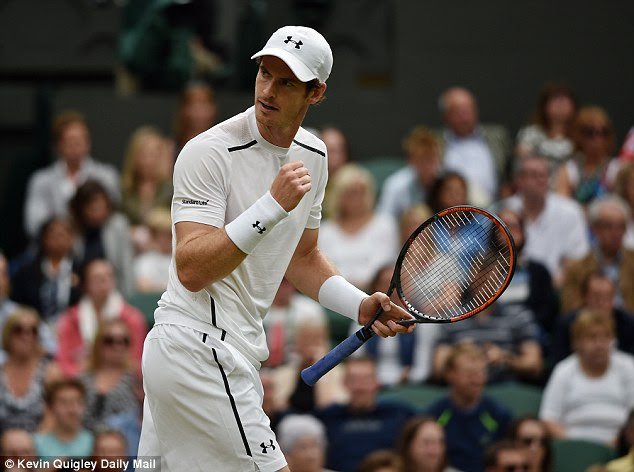 Murray's strong display against Millman will boost his confidence further ahead of the second week