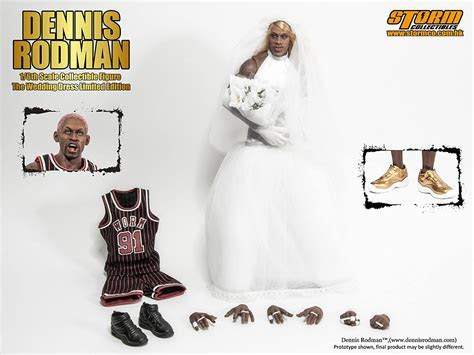 Storm Collectibles: Dennis Rodman ? Wedding Dress Limited