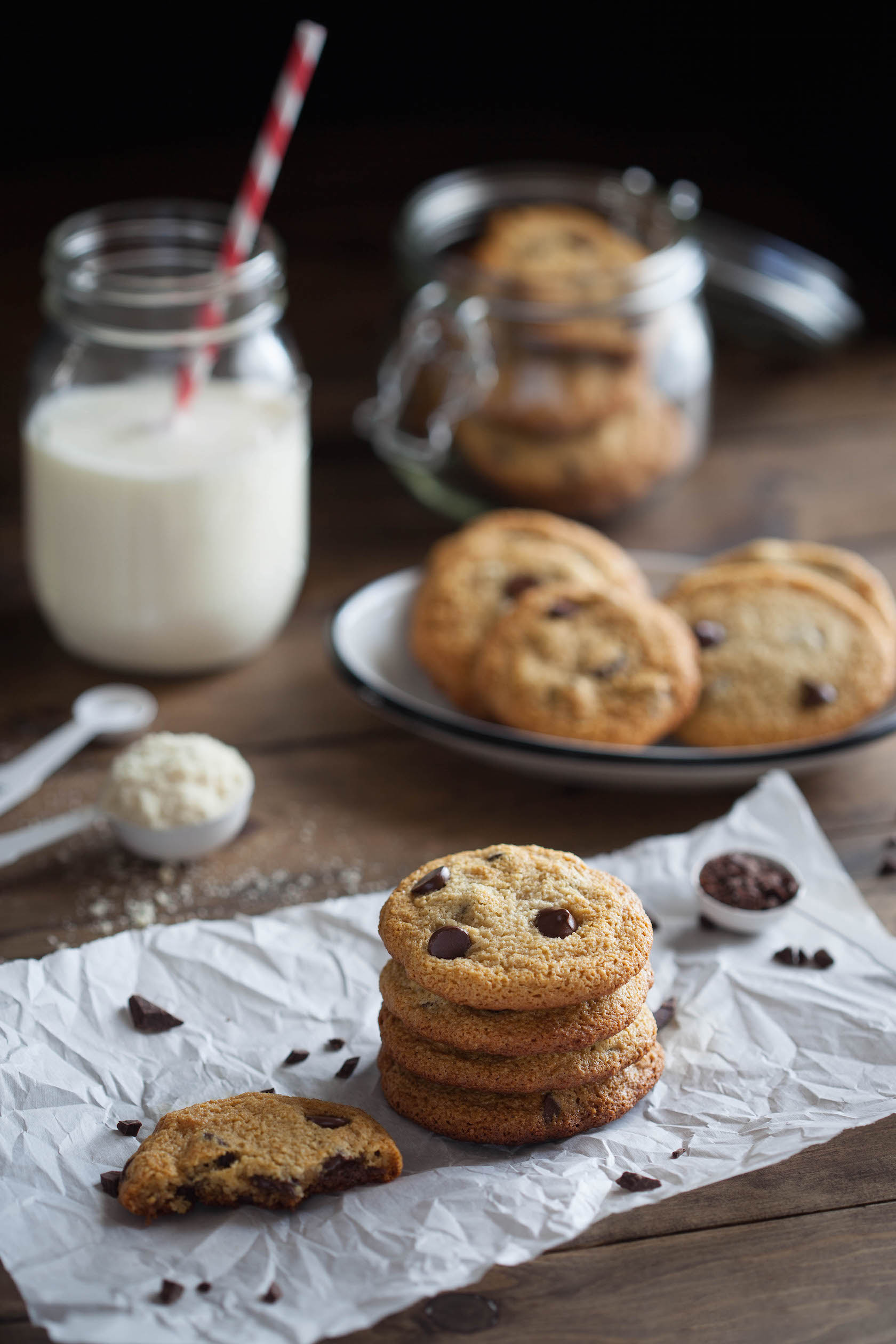 Simple Chocolate Chip Cookies   Clean Eating with a Dirty Mind