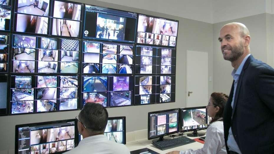 Instalan 176 cámaras para reforzar la seguridad en la estación de trenes de Constitución