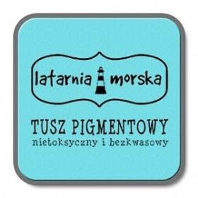 Tusz pigmentowy do stempli i embossingu- past błęk