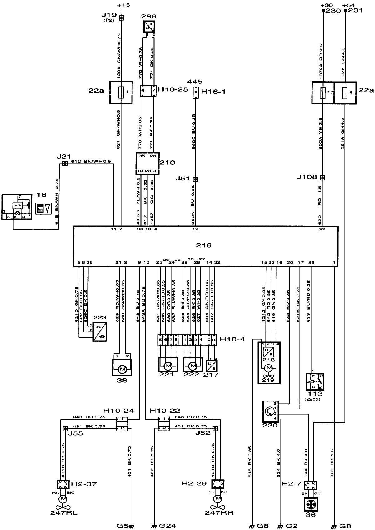 Saab 900s Wiring Schematic