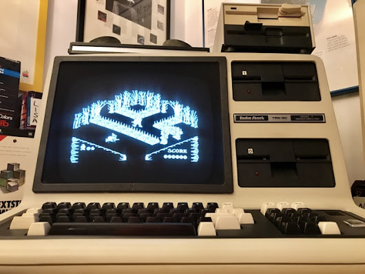 Enjoying High-Res Graphics on a Text-Only TRS-80 Model 4 from 1983 | Byte Cellar