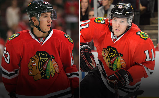 Blackhawks recall forwards Jeremy Morin and Teuvo Teravainen