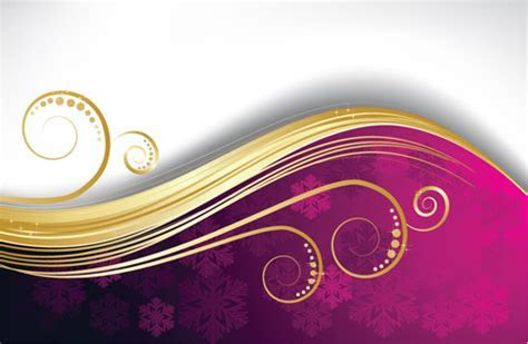 Exquisite Christmas backgrounds vector 02   Free download