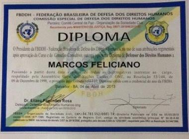 Após diplomar Feliciano, entidade pede renuncia; 'Estou arrependido', diz presidente