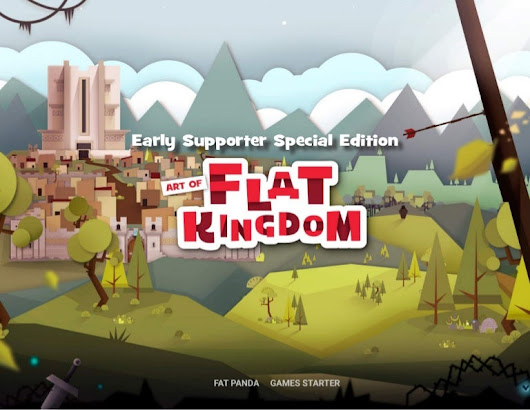 Flat Kingdom Early Supporters Artbook