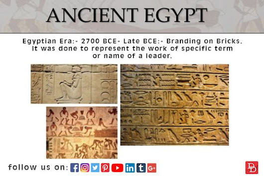 Museum of Branding:- Egyptian Era | Design Den Cruise | Pinterest
