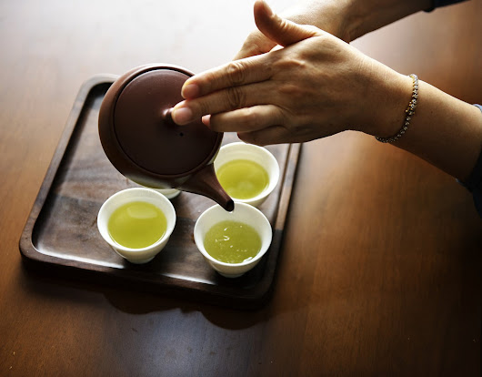 Different types of Green Tea