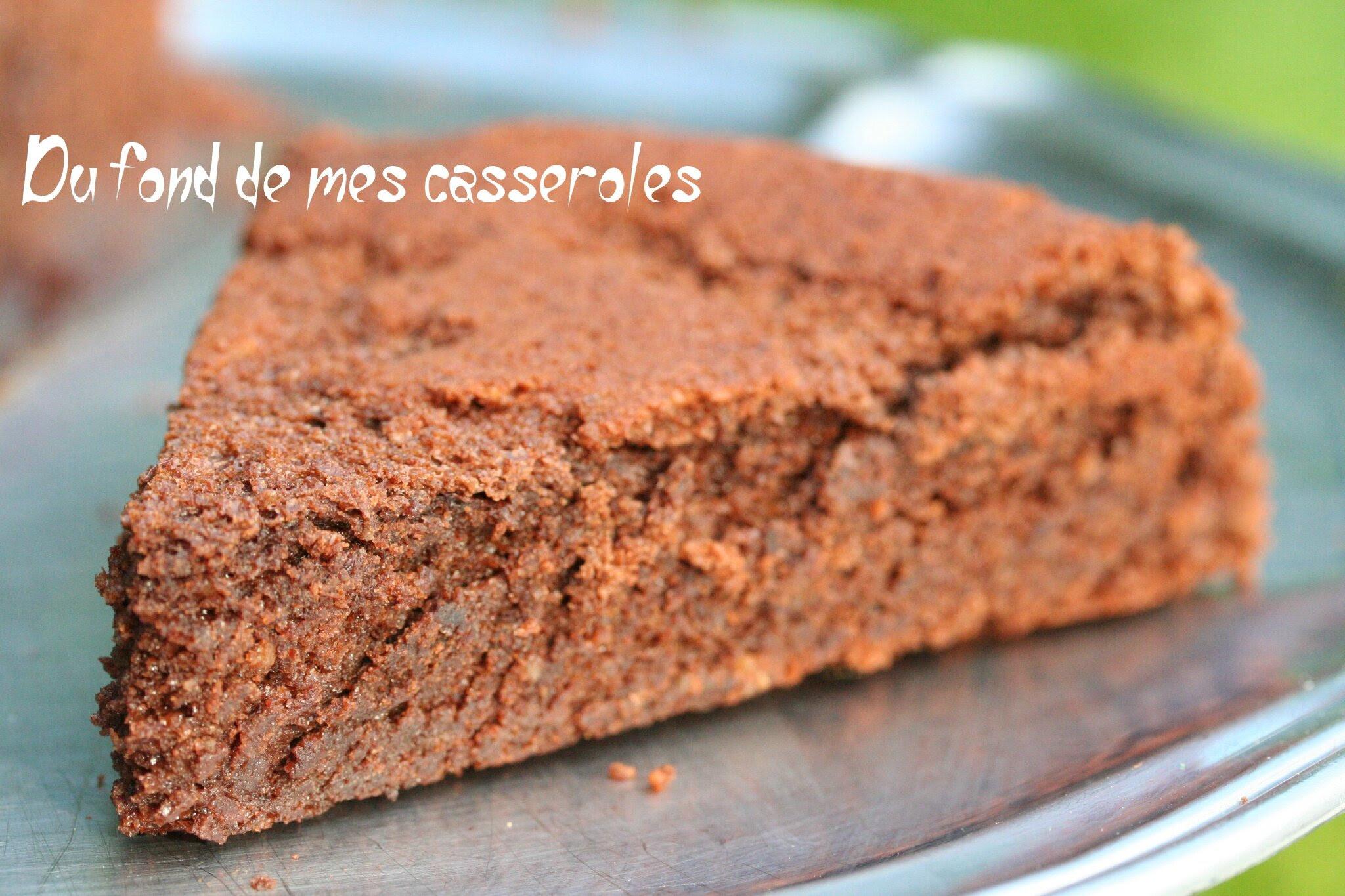 Gâteau au chocolat sans beurre - Du fond de mes casseroles