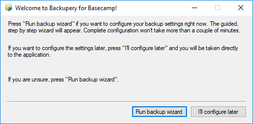 How to Backup Basecamp - Backupery