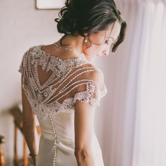 Unique Wedding Dresses: Beaded Beauties - An Inspired Affair, LLC.