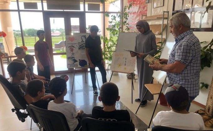 Всельском поселении Кантышево Ингушетии прошла беседа сошкольниками «Наркотики разрушают жизнь»