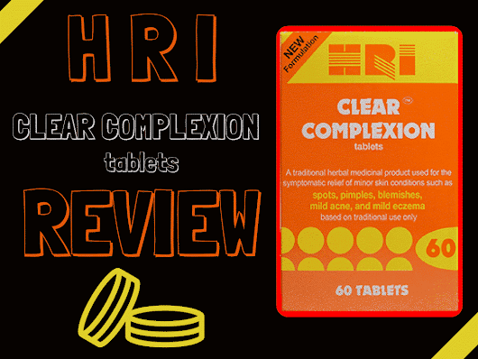 HRI Clear Complexion Review- Do The Ingredients Cause Side Effects? | Acne Supplements Critic