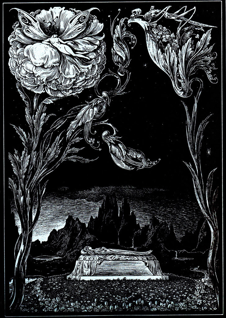 Alberto Martini - Edgar Allan Poe Illustration 7