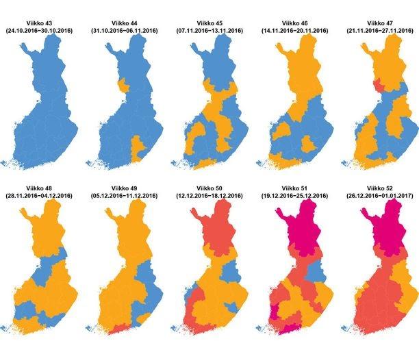Flunssa Kartta