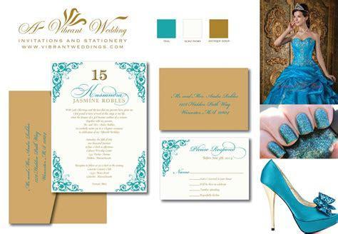 Quinceanera Invites ? A Vibrant Wedding Invitations