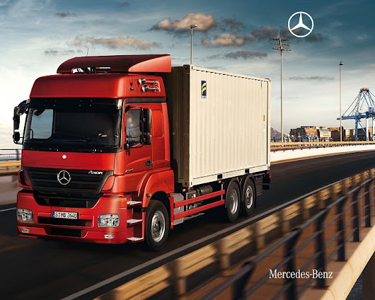 Axor Mercedes Trucks: Powerful, durable and economic - Truck & Trailer Blog