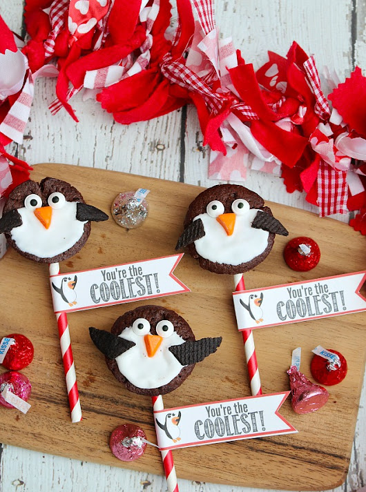 Penguin Valentine's Day Treats - Clean and Scentsible