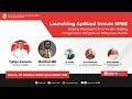 [ LIVE ] Launching Aplikasi Umum SPBE
