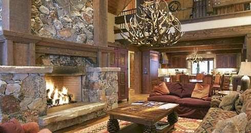Stone Fireplace Hearth Ideas . . . Outstanding Custom Designs!