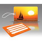 Insight Design 770642 TagCrazy Luggage Tags- Sunset Sailing- Set of Three