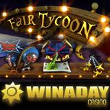 New Fair Tycoon slot machine with bonus game at winadaycasino.com