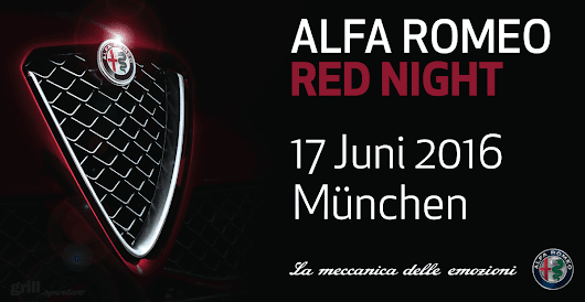 Alfa Romeo Red Night - grill sportivo