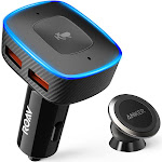 Roav VIVA with Car Mount, by Anker, Alexa-Enabled 2-Port USB Car Charger for In-Car Navigation, Hands-Free Calling and Music Streaming
