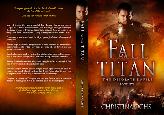 Fall of the Titan Print Version is Here! - The Rolling Writer
