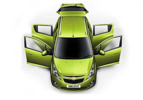 Chevrolet Beat Top View