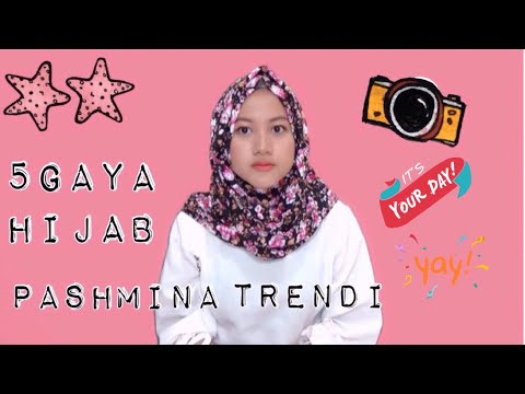 VIDEO : 5 gaya hijab pashmina trendi terkini tanpa ninja #nmy hijab tutorials - 5 gaya5 gayahijab pashminatrenditerkini5 gaya5 gayahijab pashminatrenditerkinitanpaninja #nmy hijab5 gaya5 gayahijab pashminatrenditerkini5 gaya5 gayahijab pa ...