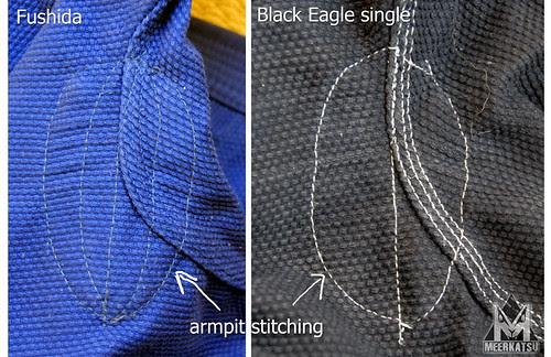 armpit stitching