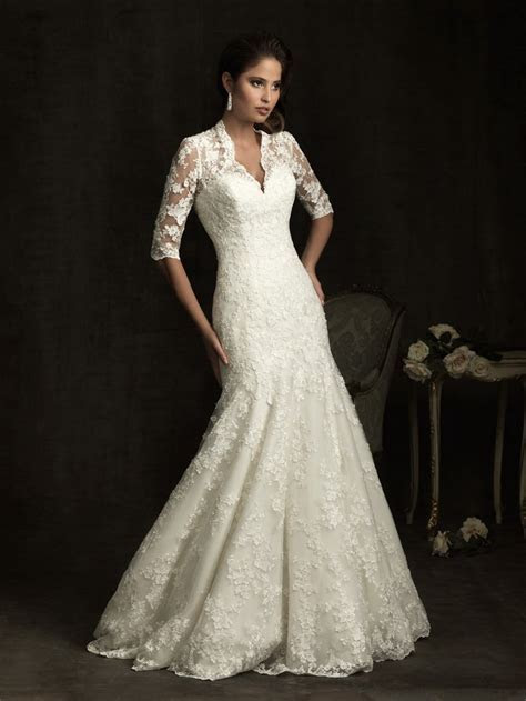 Blog for Dress Shopping: Long Sleeve Wedding Dresses Back