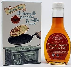 Amazon.com : Gluten Free Buttermilk Pancake/waffle Mix ...