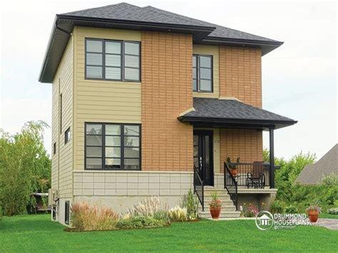 simple slanted roof modern house simple modern house plan