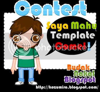 Contest Budak Nakal Blogspot
