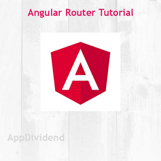 Angular Router Tutorial Example From Scratch