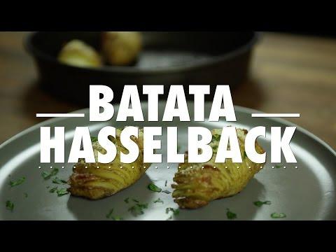 Gulodices à segunda - Batatas Hasselback com Bacon