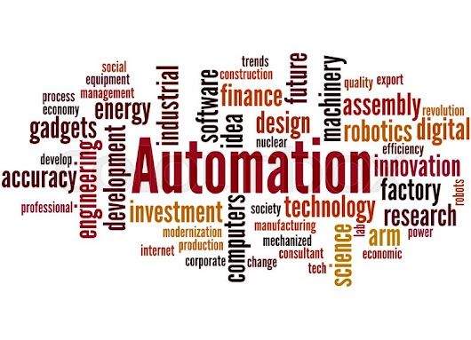 Image: Automation, word cloud concept on white background. | Stock Photo ...