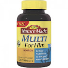 Nature Made Multi for Him, Multivitamin Tablets - 120 count