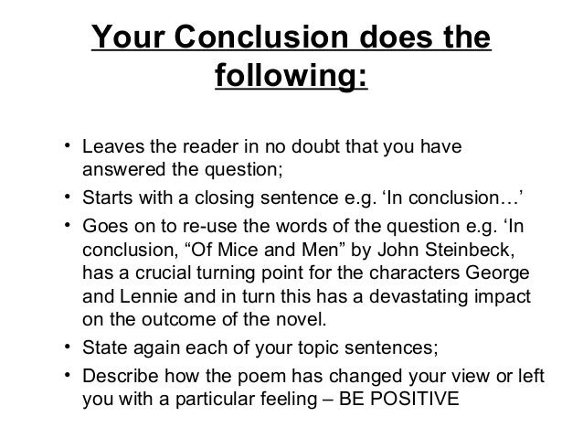 how to write a higher history essay conclusion