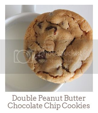 """""""Double Peanut Butter Chocolate Chip Cookies"""""""