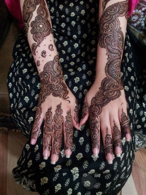 Latest Mehndi Design 2014 2015 With New Fashion for Bridal