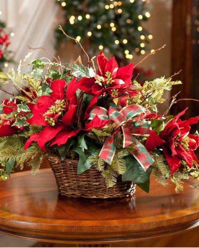 centros-de-mesa-navidenos-flores-rojas
